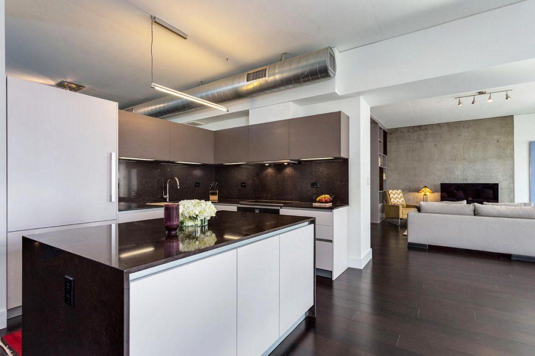 Дизайн интерьера квартиры в стиле лофт 58