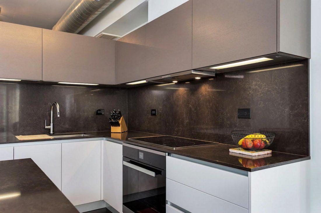Дизайн интерьера квартиры в стиле лофт 59