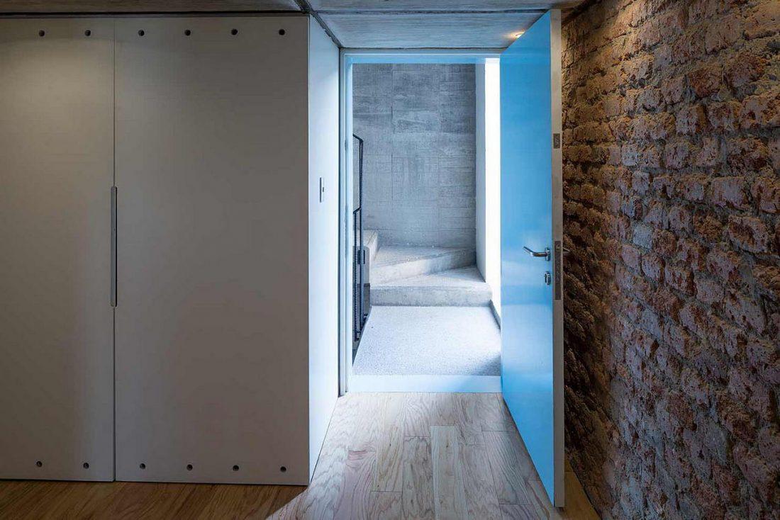 Дизайн интерьера квартиры в стиле лофт 6