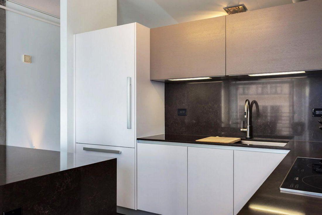 Дизайн интерьера квартиры в стиле лофт 60