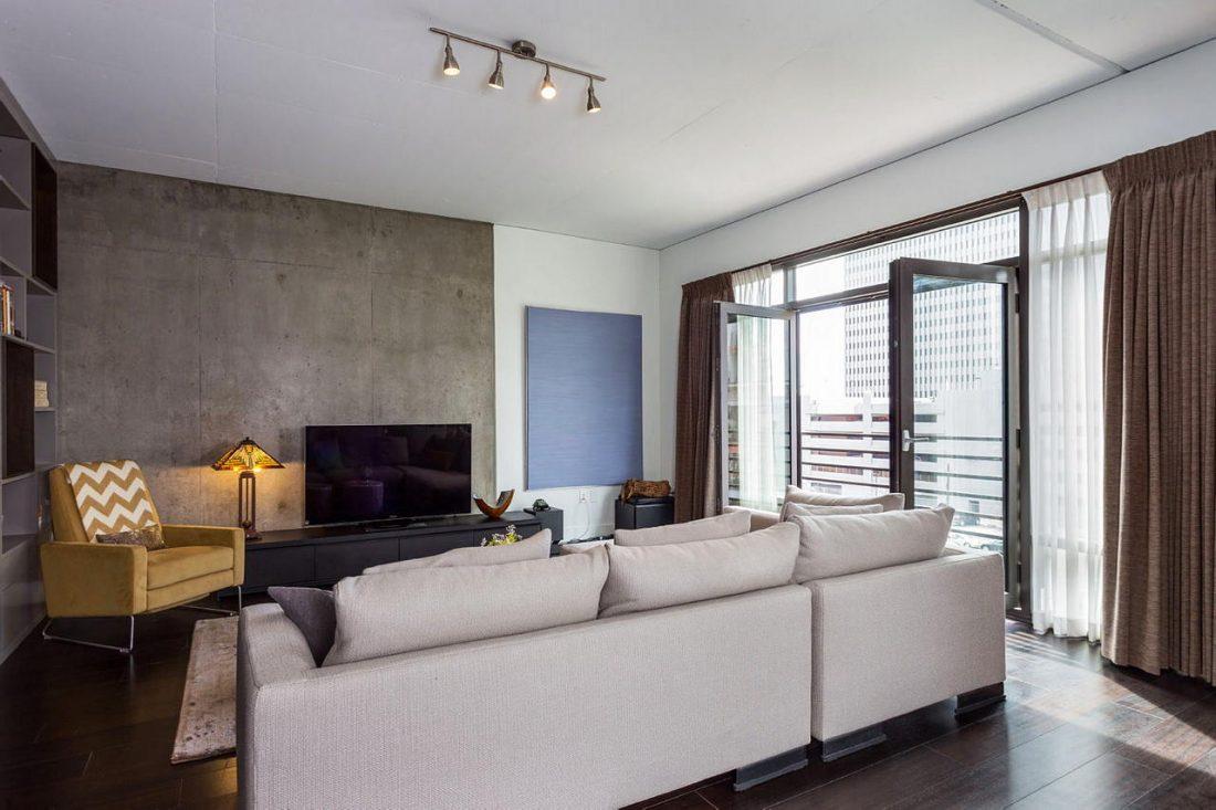 Дизайн интерьера квартиры в стиле лофт 61