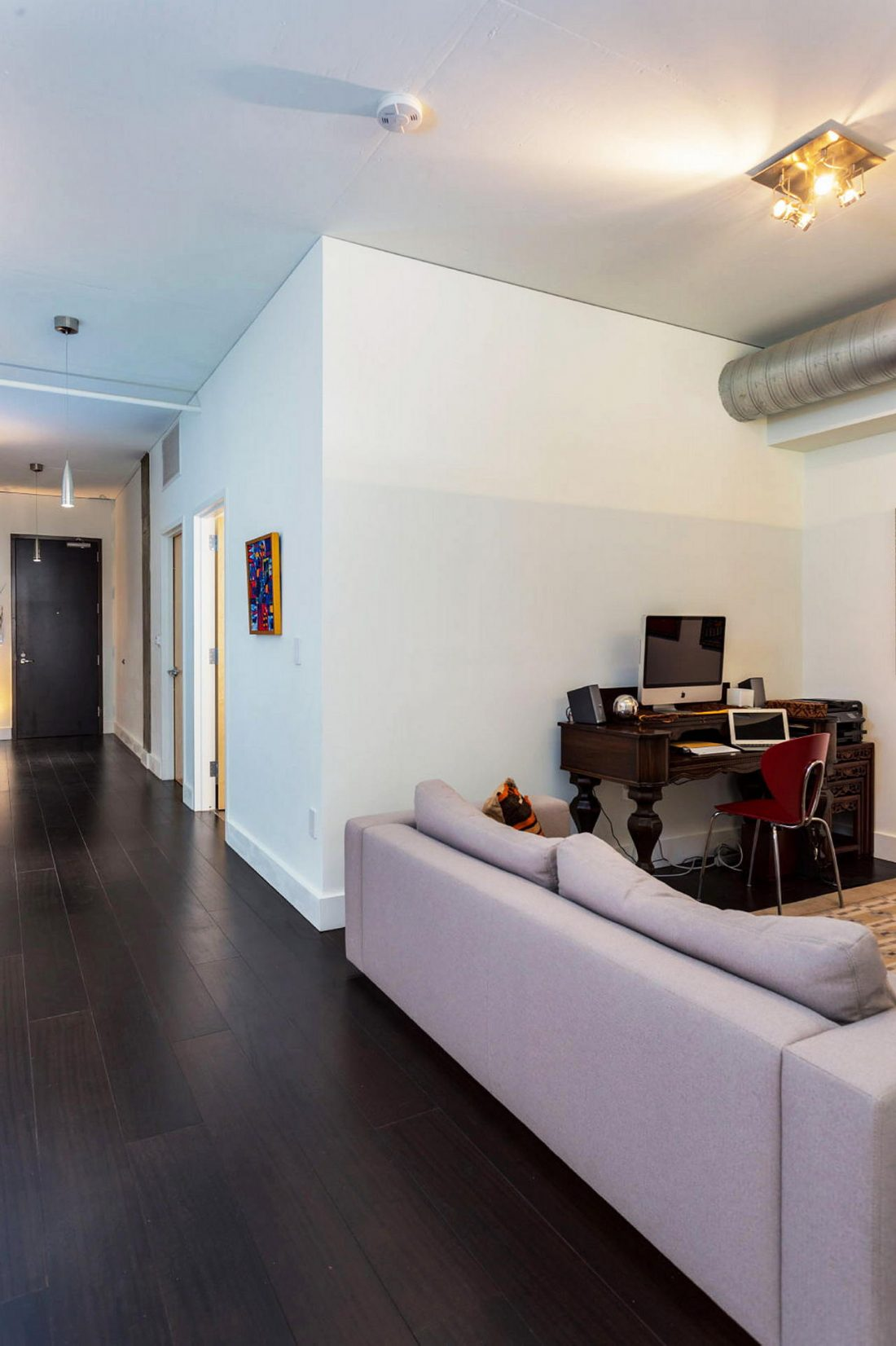 Дизайн интерьера квартиры в стиле лофт 62