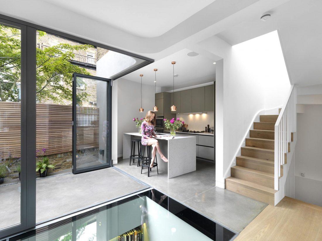 Дом Брекенбури от студии Neil Dusheiko Architects 14