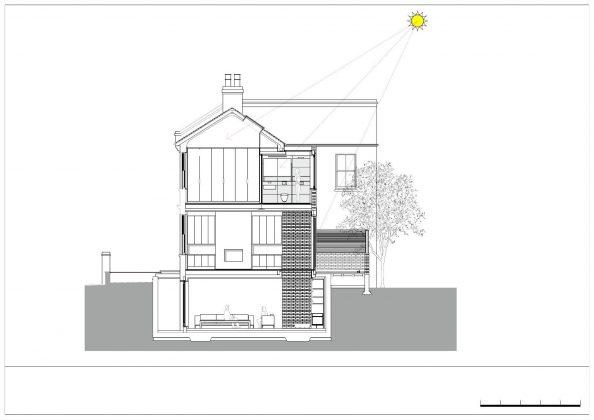 Дом Брекенбури от студии Neil Dusheiko Architects 21