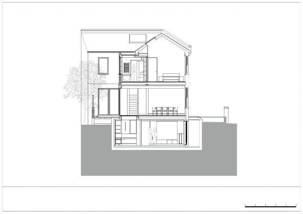 Дом Брекенбури от студии Neil Dusheiko Architects 23
