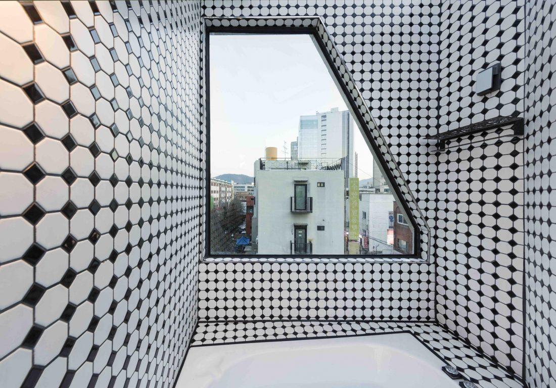 Дом в хай-тек стиле по проекту студии Moon Hoon в Южной Корее 2