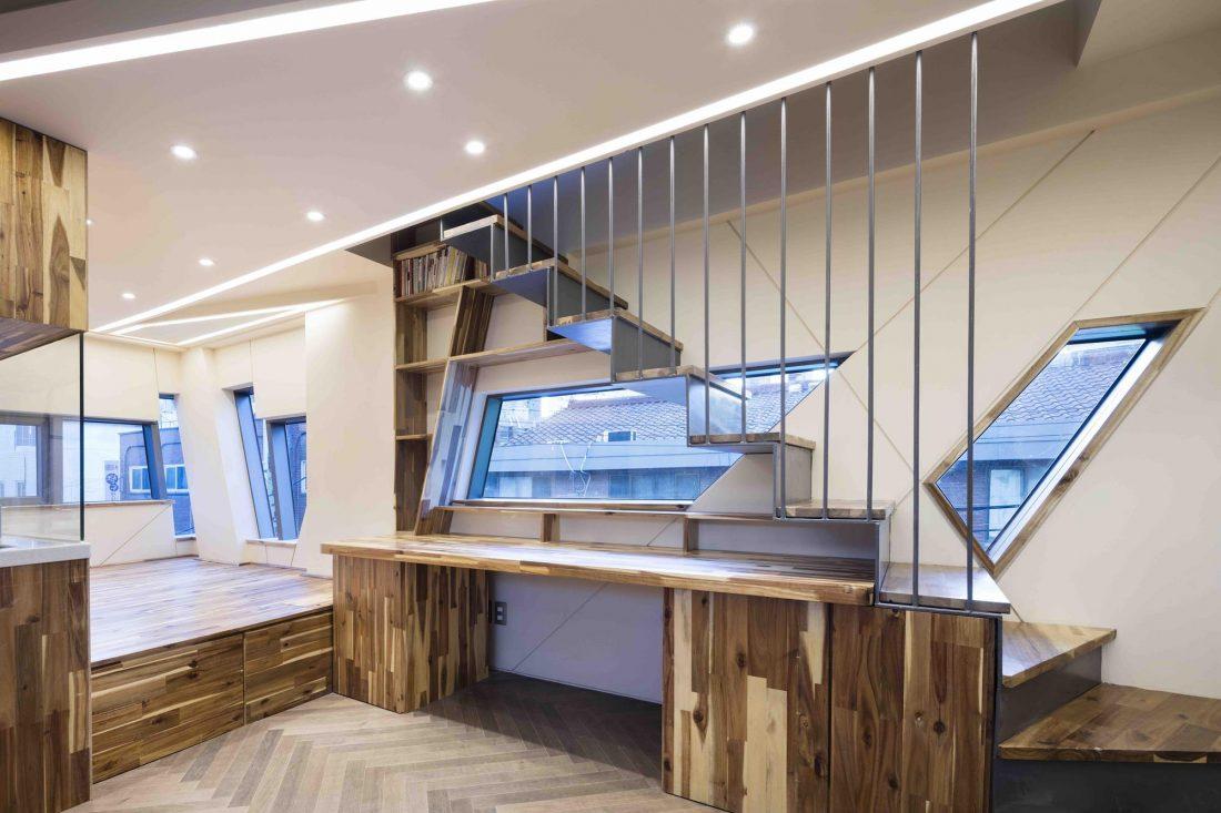 Дом в хай-тек стиле по проекту студии Moon Hoon в Южной Корее 24