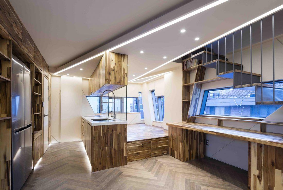 Дом в хай-тек стиле по проекту студии Moon Hoon в Южной Корее 7
