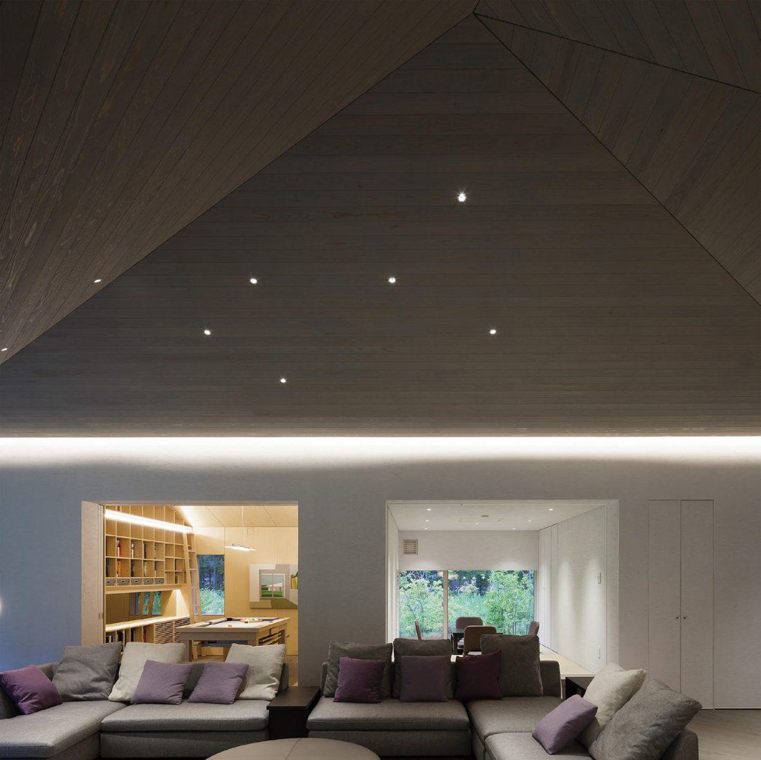 Дом в космическом стиле в Каруидзава от студии O. F. D. A. 10