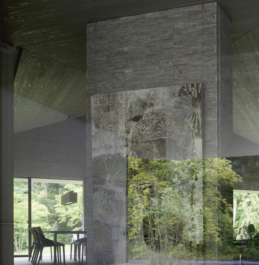 Дом в космическом стиле в Каруидзава от студии O. F. D. A. 12