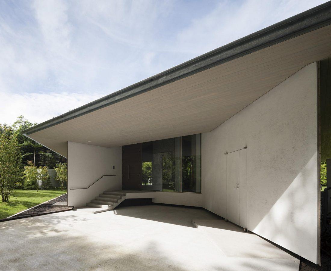 Дом в космическом стиле в Каруидзава от студии O. F. D. A. 2