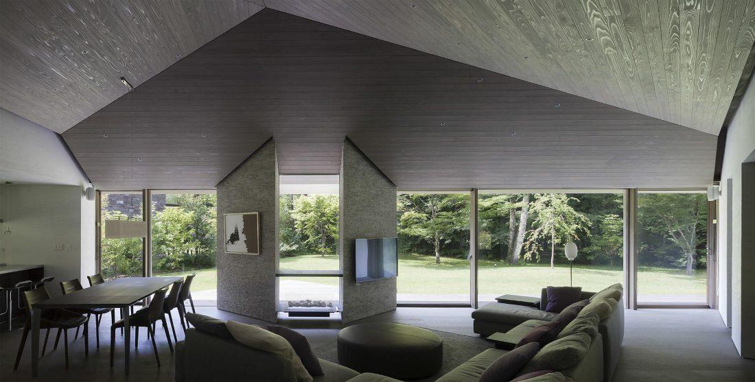 Дом в космическом стиле в Каруидзава от студии O. F. D. A. 4