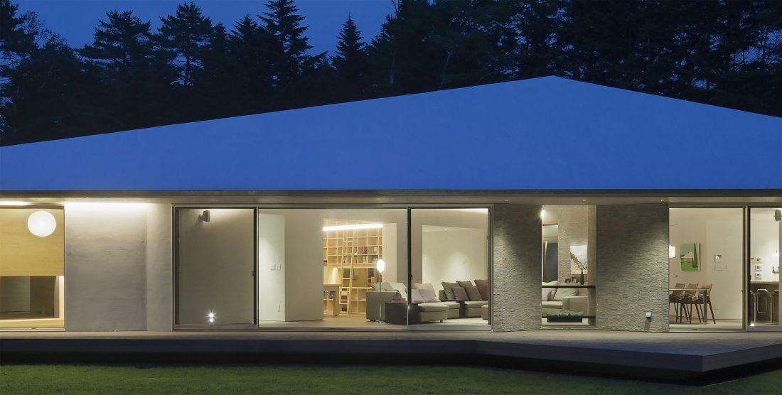 Дом в космическом стиле в Каруидзава от студии O. F. D. A. 5