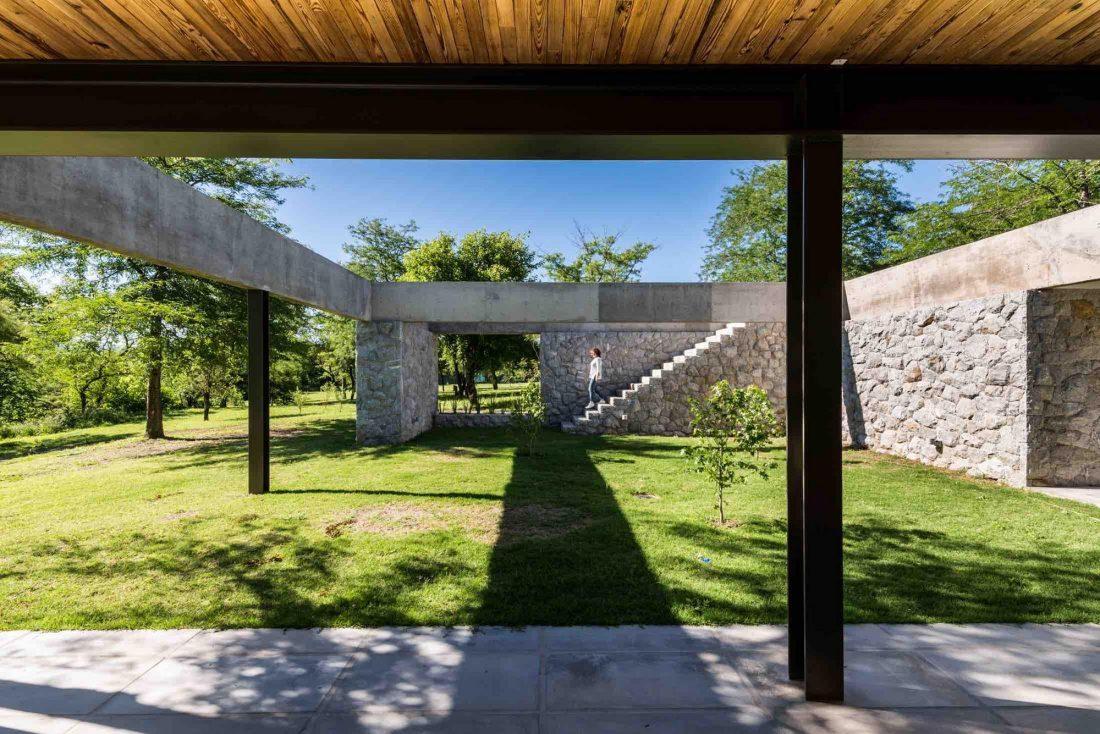 Экологичный и аутентичный проект дома от студии MWS arquitectura 1