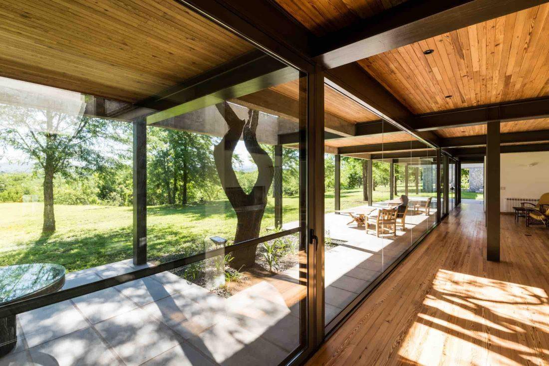 Экологичный и аутентичный проект дома от студии MWS arquitectura 12