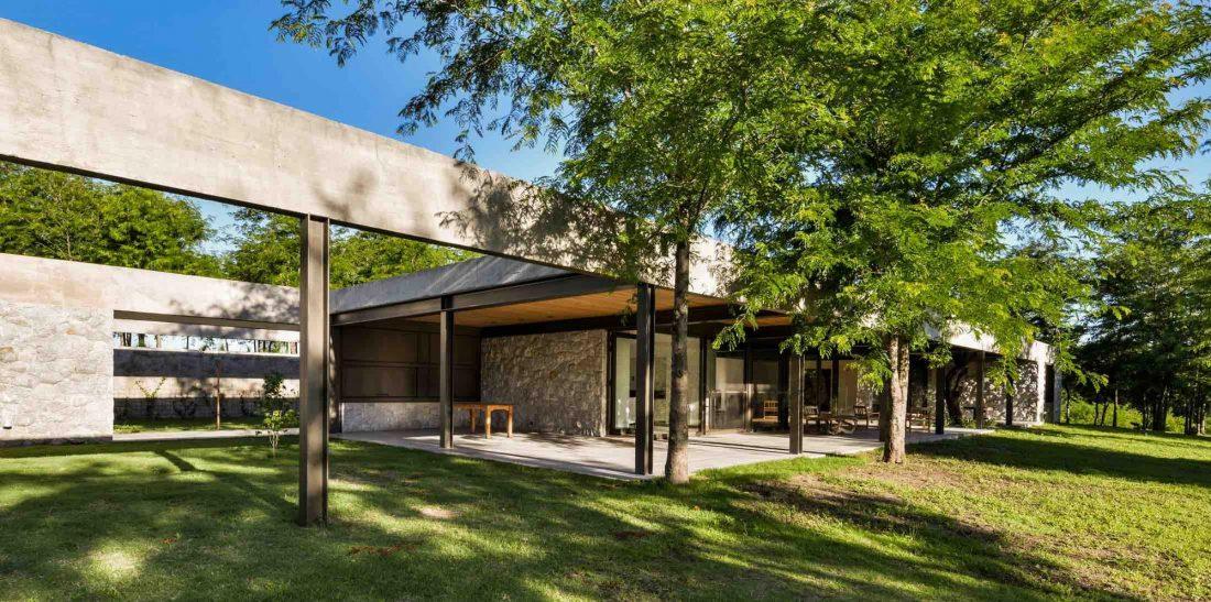 Экологичный и аутентичный проект дома от студии MWS arquitectura 18