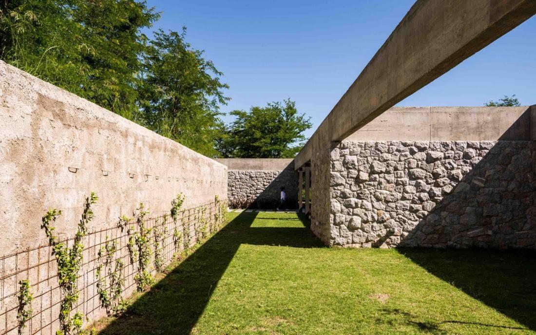 Экологичный и аутентичный проект дома от студии MWS arquitectura 20