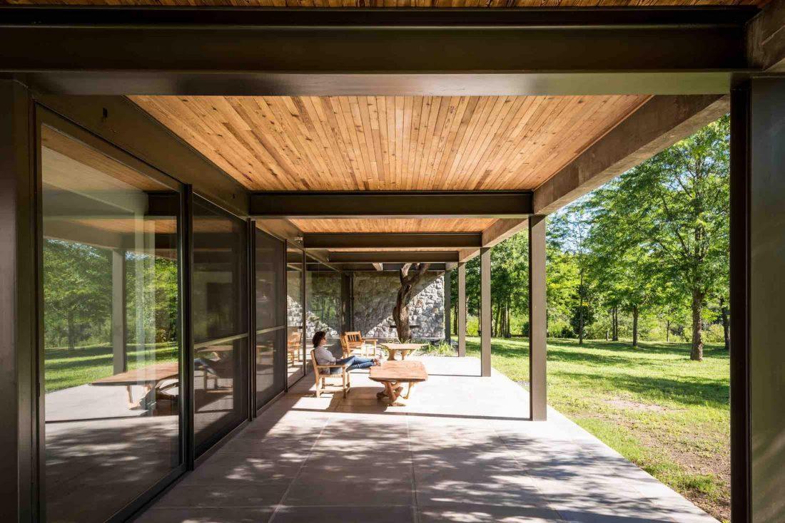 Экологичный и аутентичный проект дома от студии MWS arquitectura 24