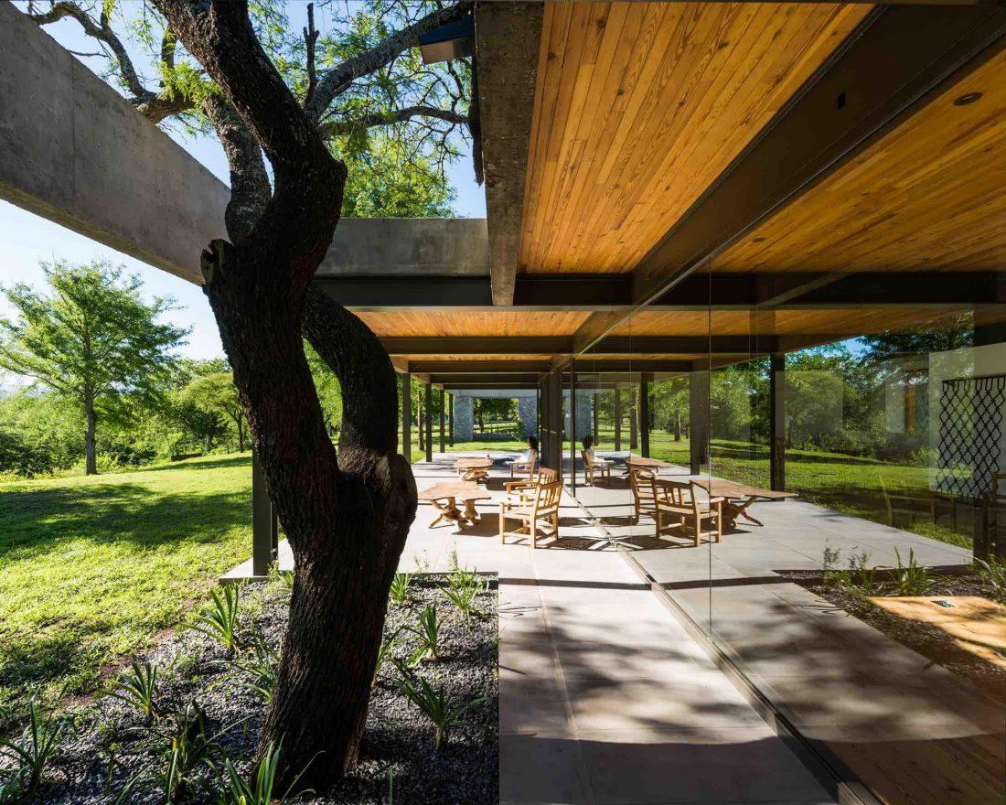 Экологичный и аутентичный проект дома от студии MWS arquitectura 26