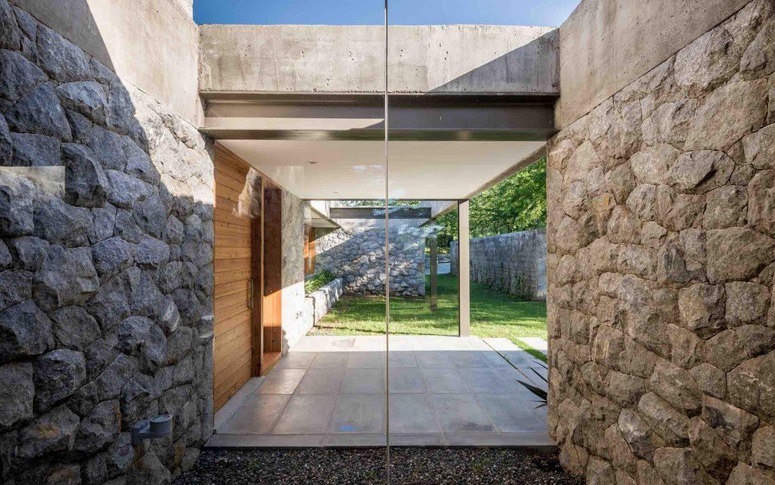 Экологичный и аутентичный проект дома от студии MWS arquitectura 3