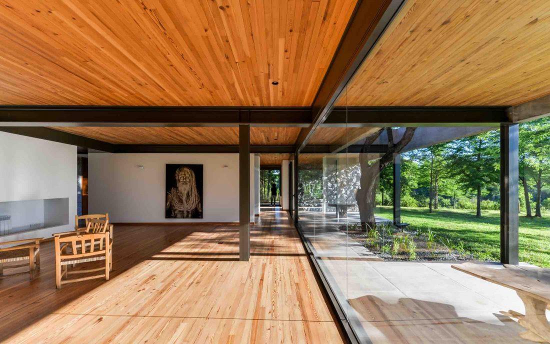 Экологичный и аутентичный проект дома от студии MWS arquitectura 36