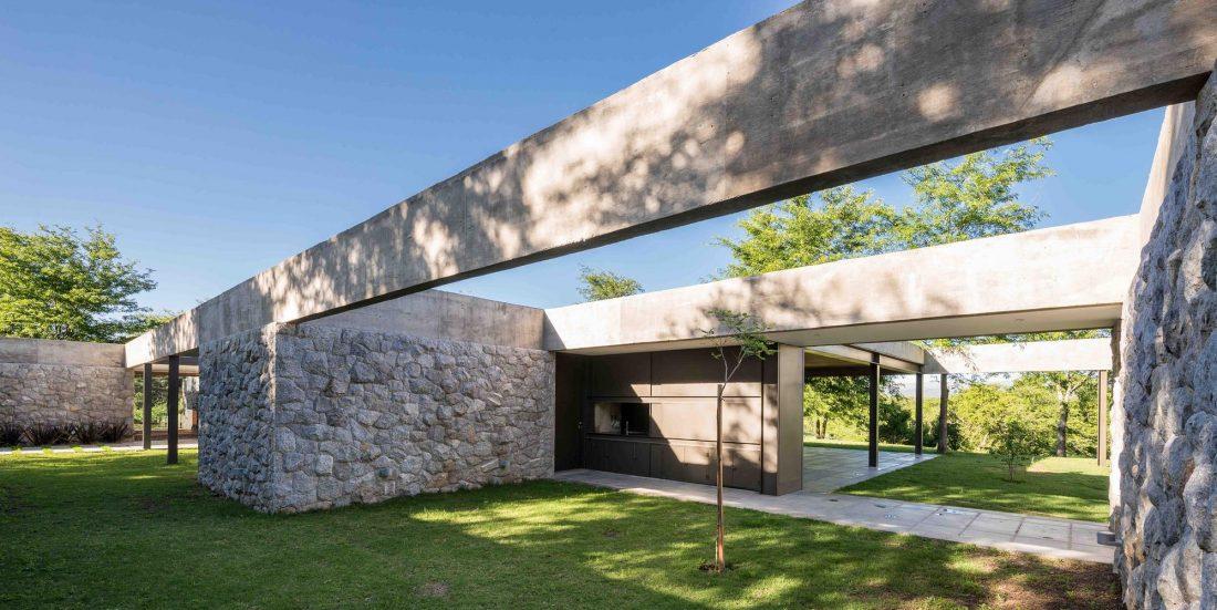 Экологичный и аутентичный проект дома от студии MWS arquitectura 37
