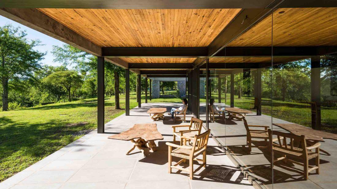 Экологичный и аутентичный проект дома от студии MWS arquitectura 4
