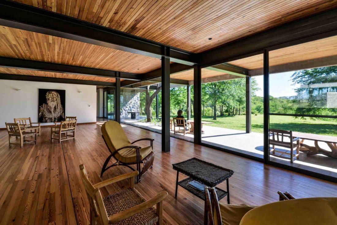 Экологичный и аутентичный проект дома от студии MWS arquitectura 42