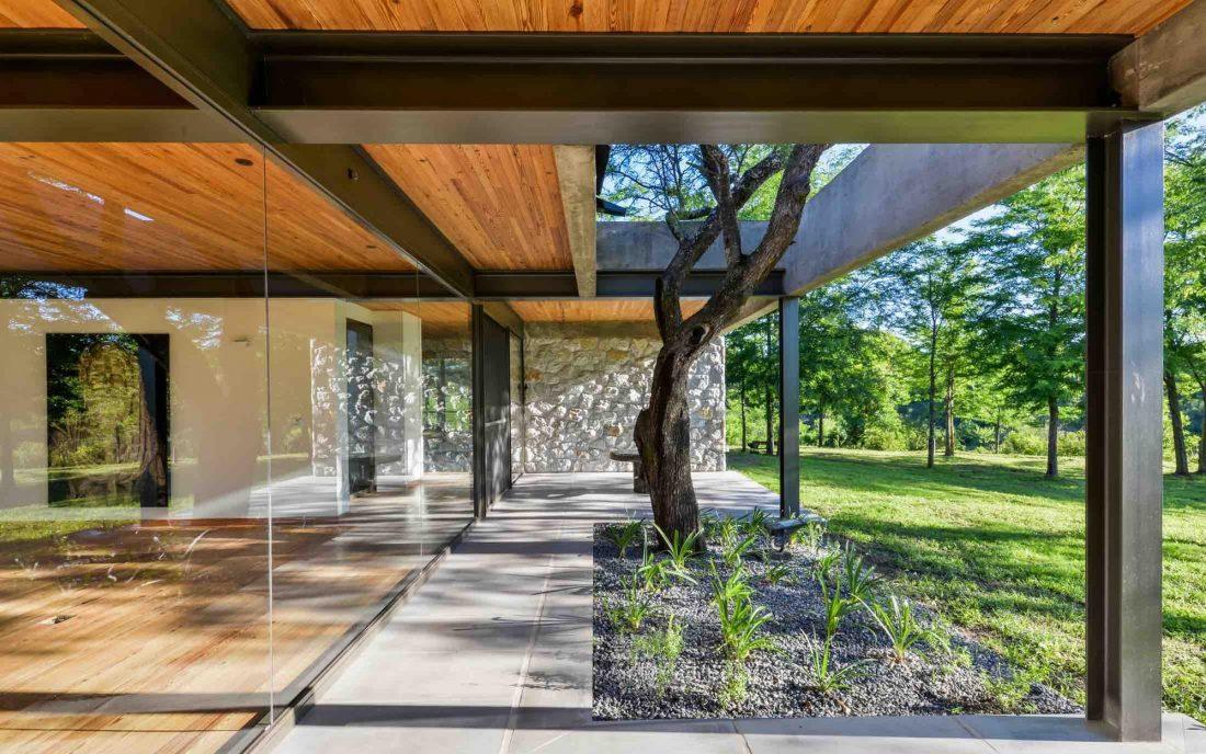 Экологичный и аутентичный проект дома от студии MWS arquitectura 49