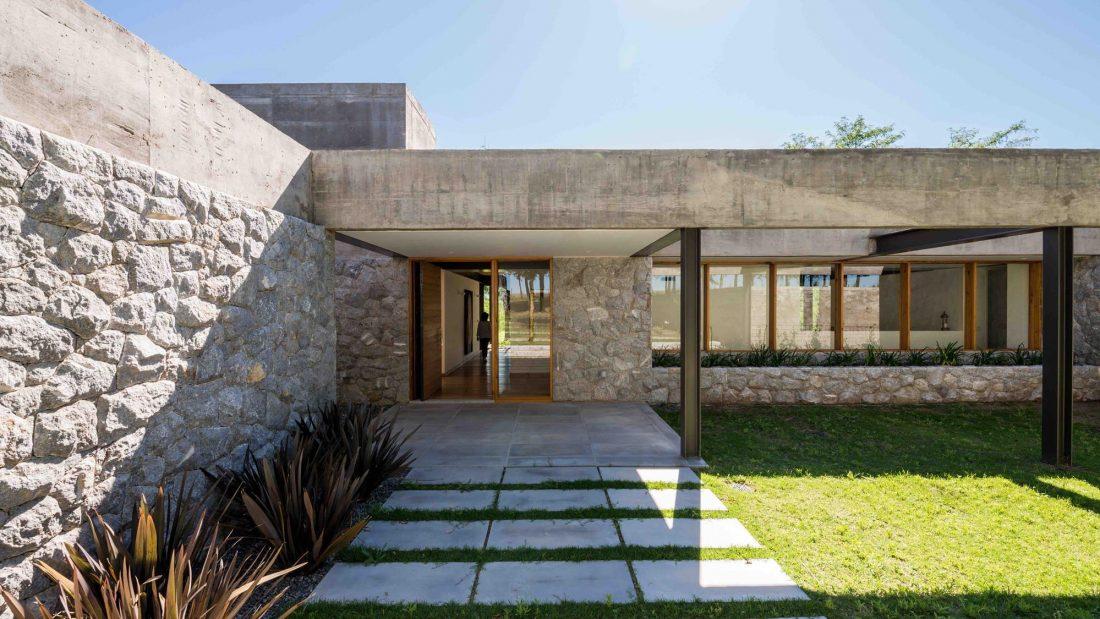 Экологичный и аутентичный проект дома от студии MWS arquitectura 7