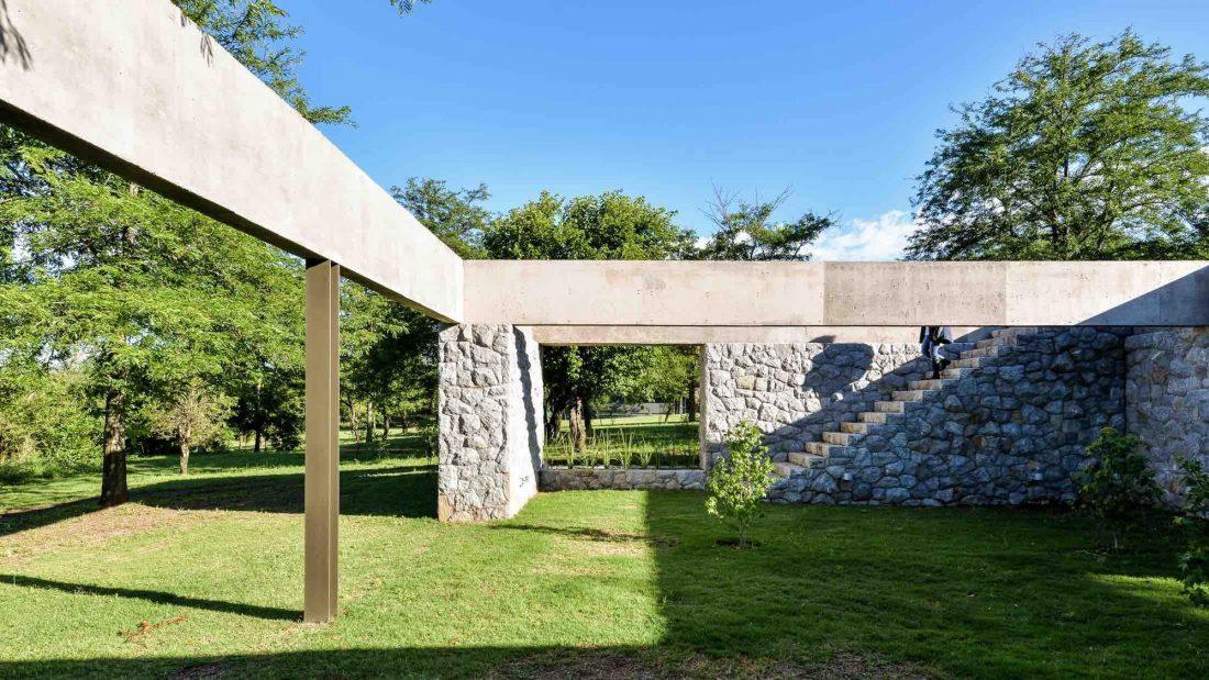 Экологичный и аутентичный проект дома от студии MWS arquitectura 8