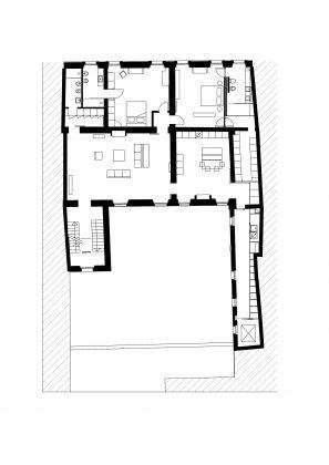 Квартира в античном стиле в старинном доме в Италии 19