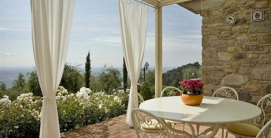 Средиземноморский стиль в интерьере гостиной 1
