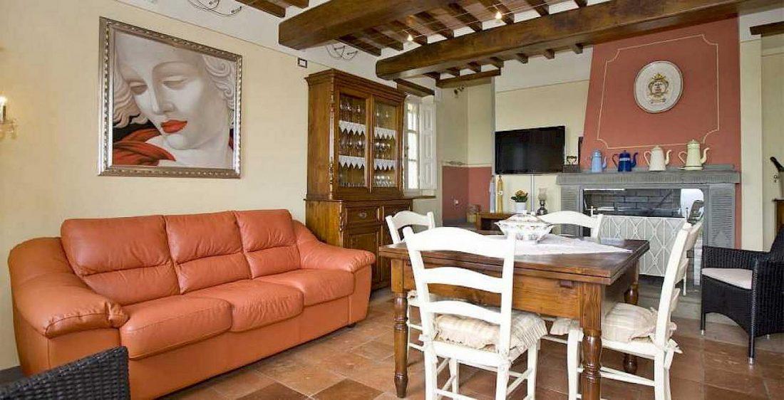 Средиземноморский стиль в интерьере гостиной 3