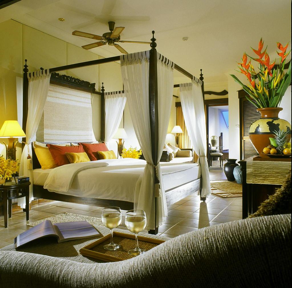 Средиземноморский стиль в интерьере спальни 1