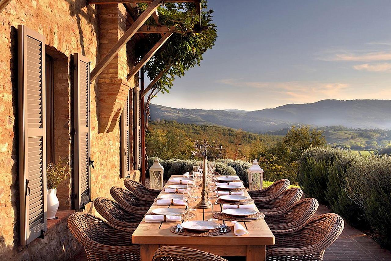Средиземноморский стиль в интерьере — вилла в Италии 11