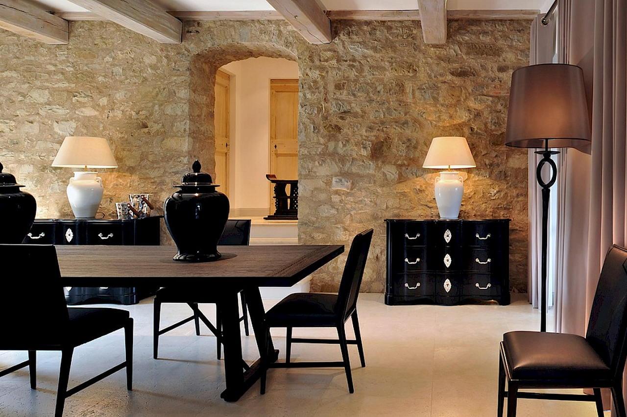 Средиземноморский стиль в интерьере — вилла в Италии 12