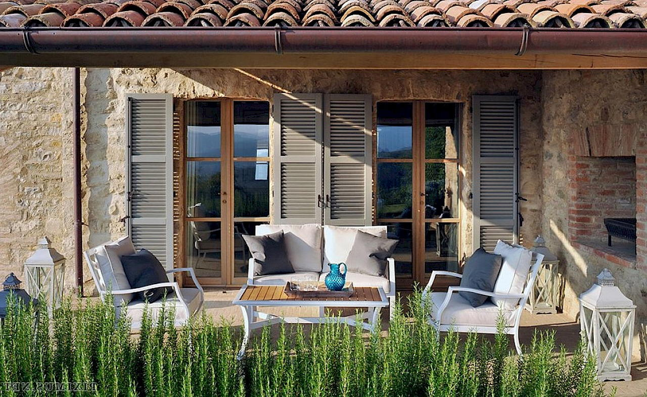 Средиземноморский стиль в интерьере — вилла в Италии 26