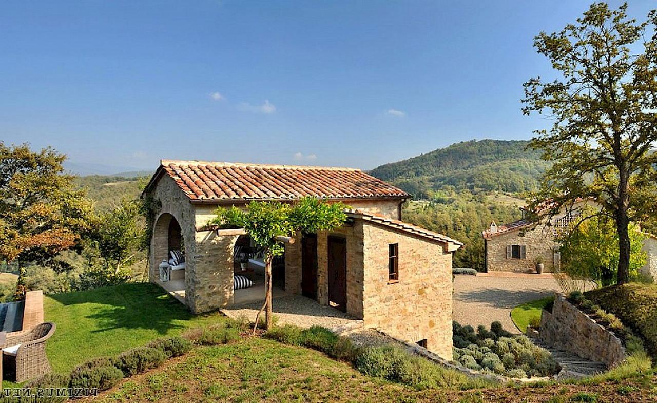 Средиземноморский стиль в интерьере — вилла в Италии 28