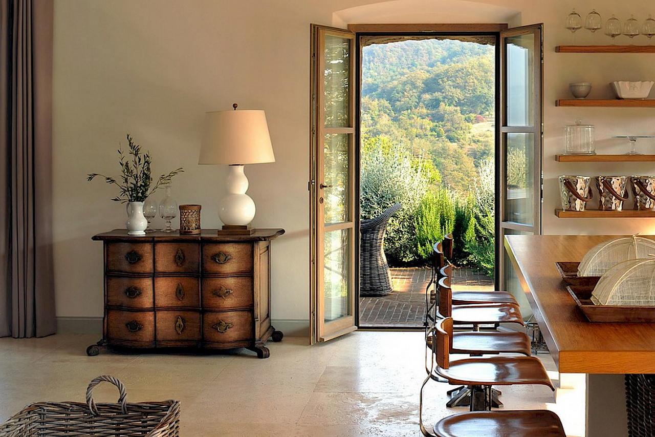 Средиземноморский стиль в интерьере — вилла в Италии 31