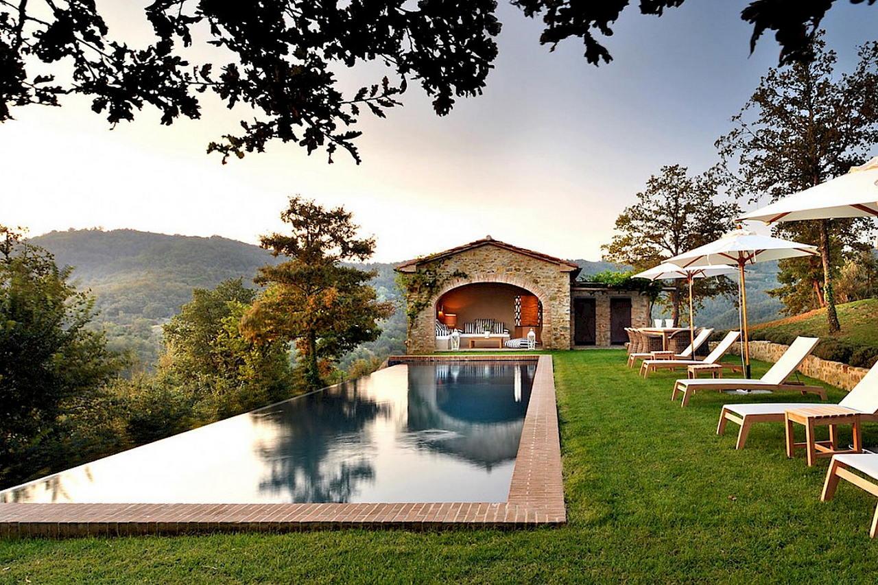 Средиземноморский стиль в интерьере — вилла в Италии 4