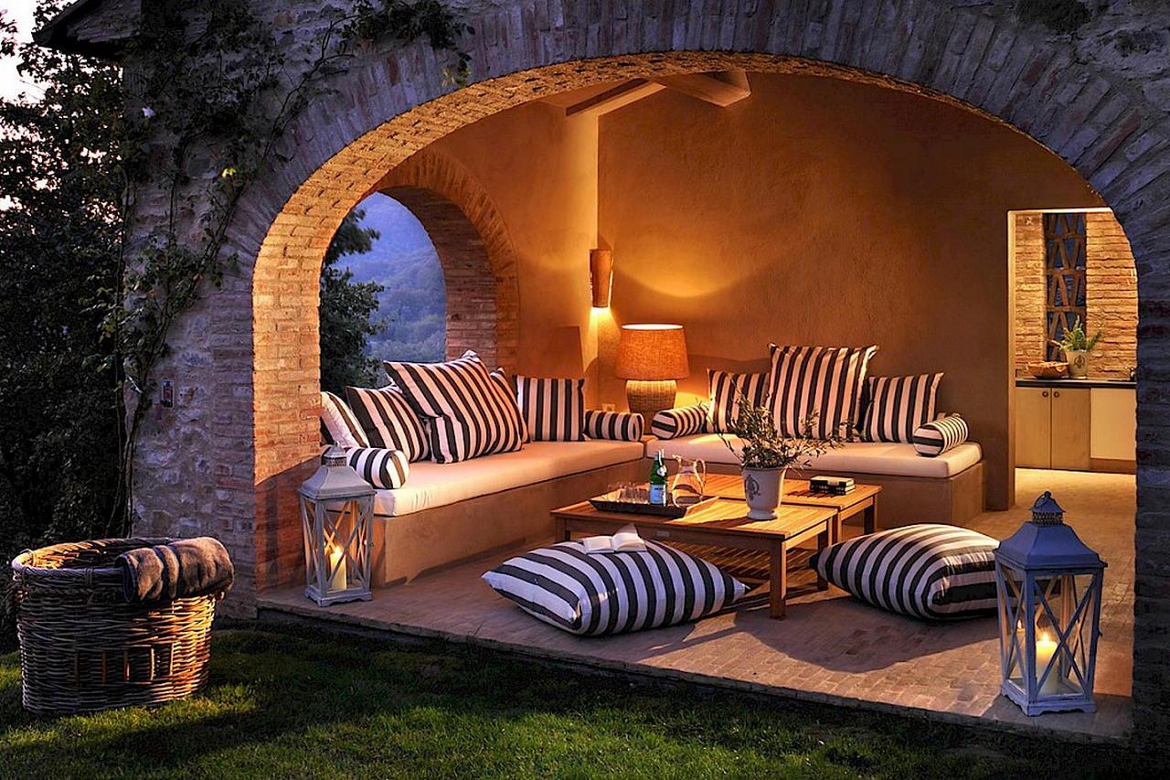 Средиземноморский стиль в интерьере — вилла в Италии 5