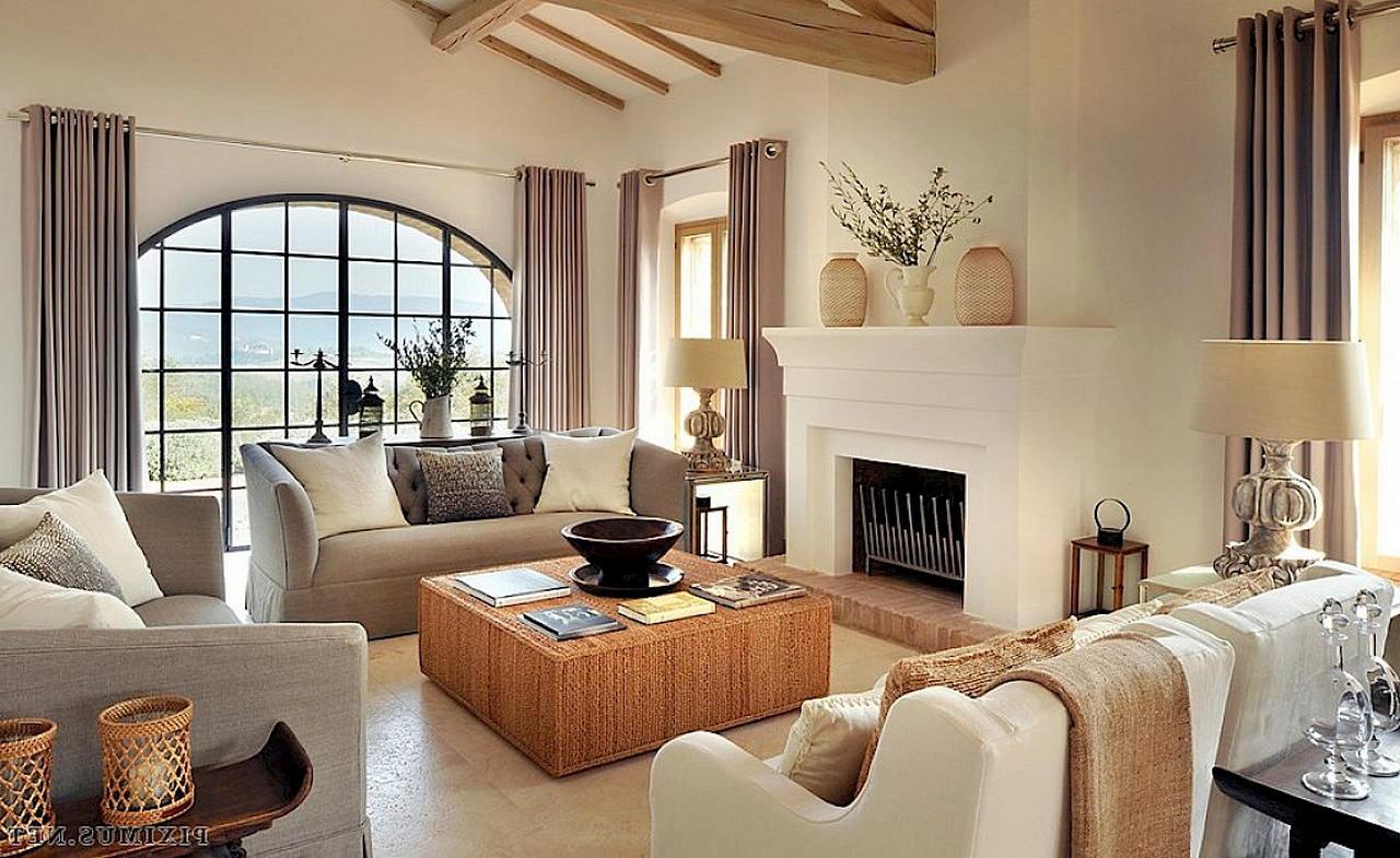 Средиземноморский стиль в интерьере — вилла в Италии 8
