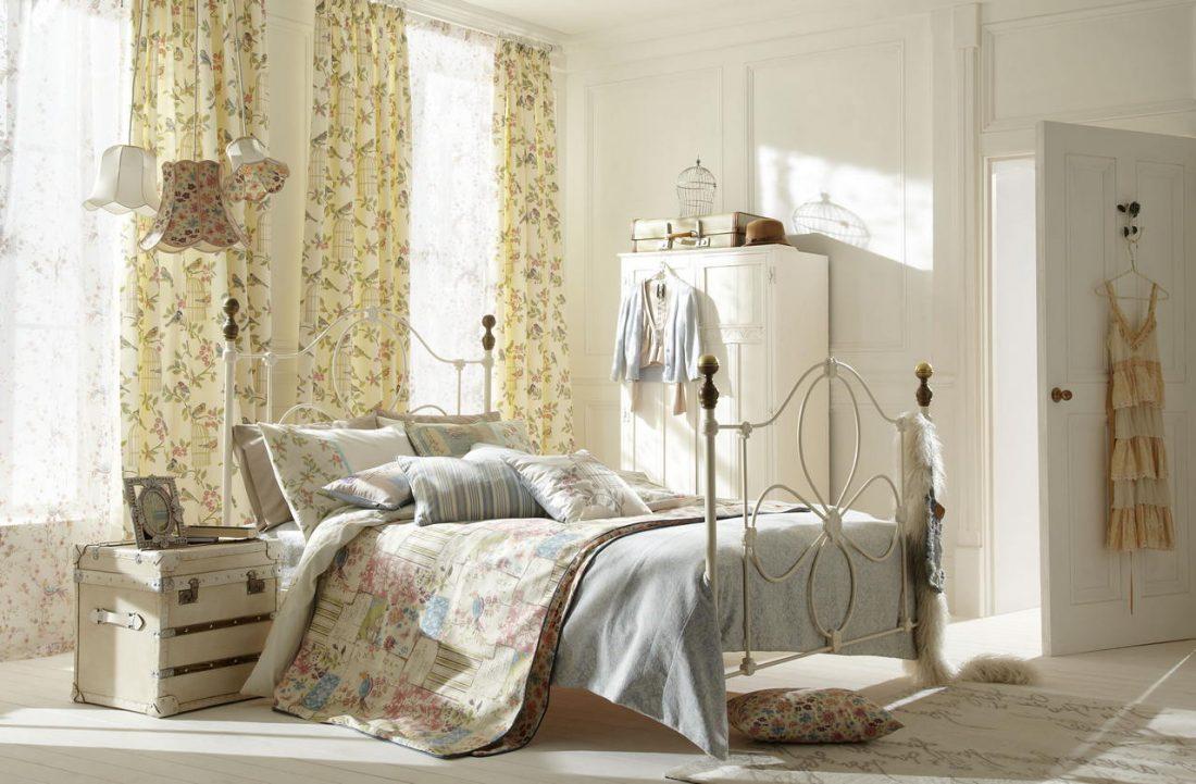 Стиль шебби-шик в спальне 2