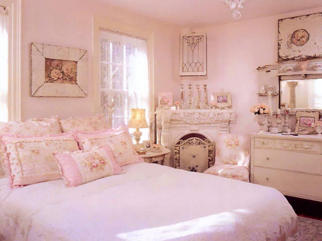 Стиль шебби-шик в спальне 3