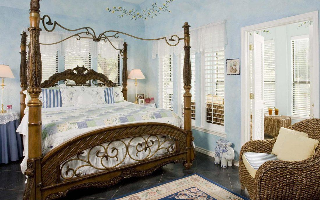 Стиль шебби-шик в спальне 5