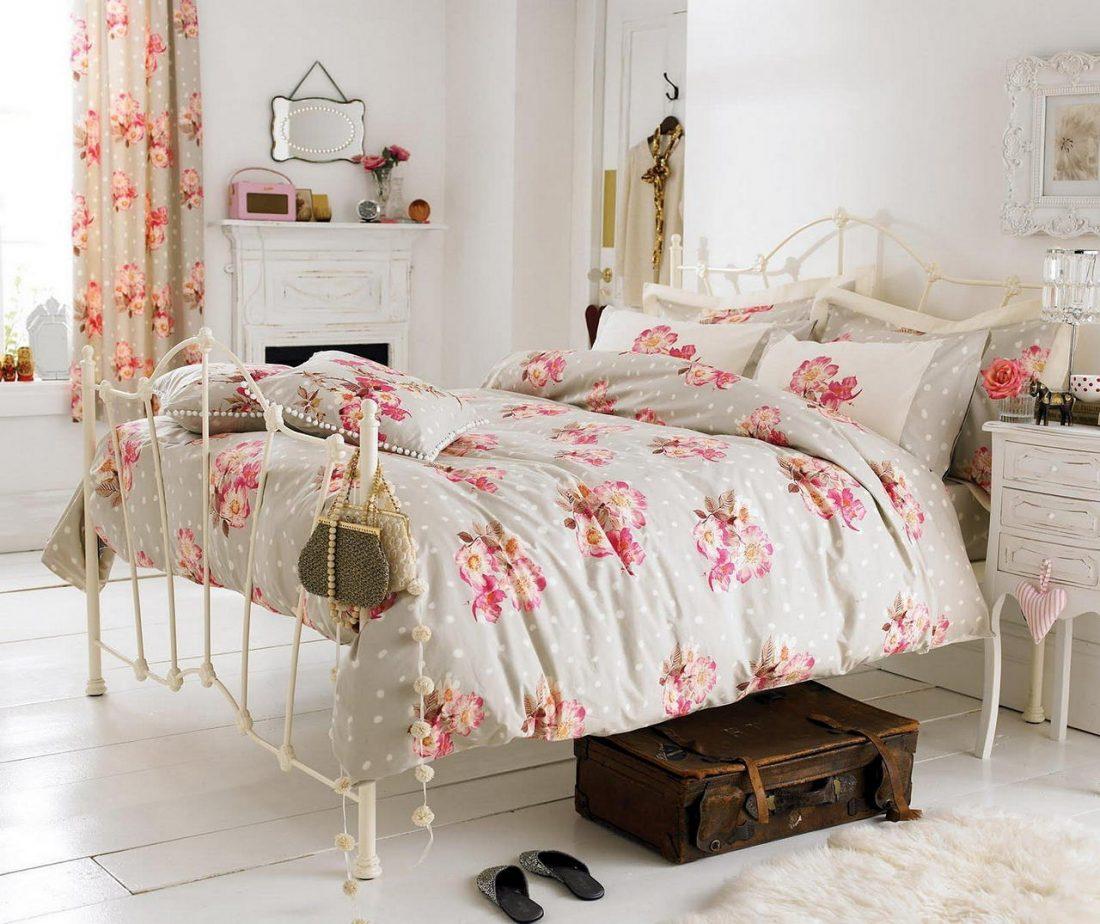 Стиль шебби-шик в спальне 8