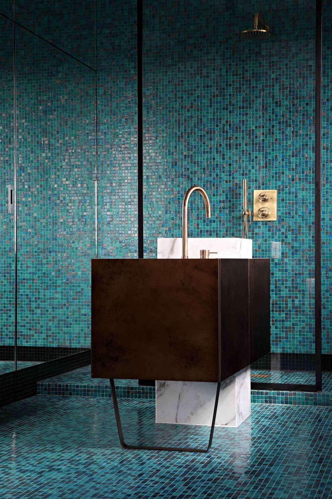 Ванная комната в стиле лофт 2