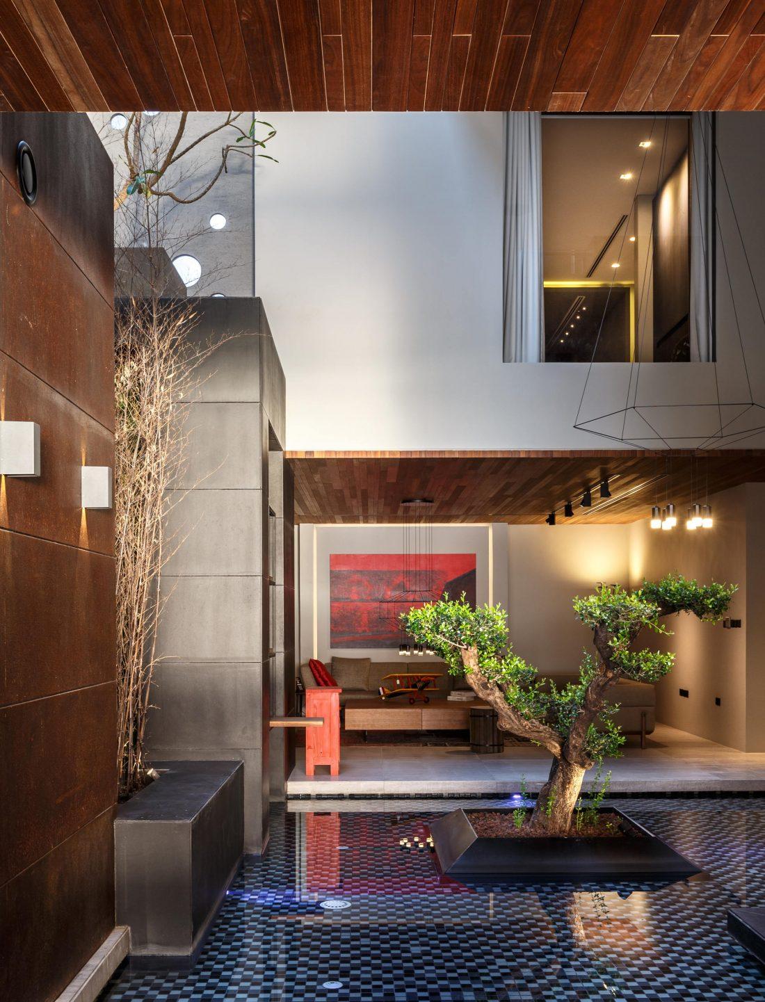 Вилла ААК масштабный эклектичный проект от студии MORIQ 19