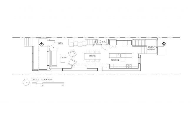 Выход из тени интересный проект студии POST Architecture 18